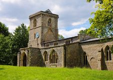 Free An English Village Church And Tower Royalty Free Stock Photography - 14886067