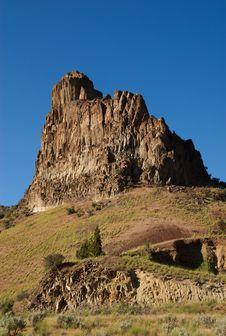 Free Desert Monolith Royalty Free Stock Photography - 14886737