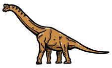 Free Brachiosaurus Stock Images - 14886794
