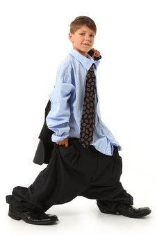 Free Adorable Boy In Suit Stock Photo - 14887740
