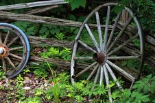Free Wagon Wheel Stock Image - 14887951