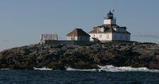 Free Egg Rock Lighthouse Royalty Free Stock Image - 14889066
