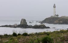 Free Pigeon Point Lighthouse Stock Photos - 14889113