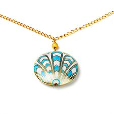 Free Cloisonne Pendant Royalty Free Stock Photography - 14889457