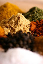 Free Piles Of Spices Royalty Free Stock Photos - 14892108