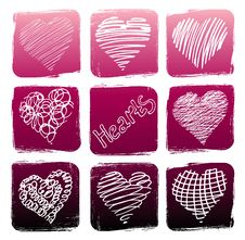 Free Hearts Stock Images - 14890304