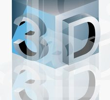 Free 3d Abstract Symbol Stock Photo - 14891070