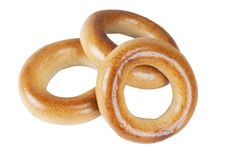 Free Three Bagels Royalty Free Stock Photo - 14891515