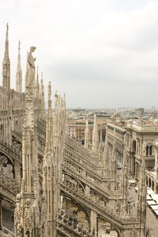 Free Milan Cathedral Royalty Free Stock Photos - 14891708