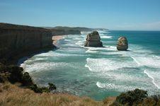 Free Twelve Apostles, Australia Royalty Free Stock Image - 14891786