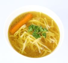 Free Chicken Soup Stock Photography - 14892862