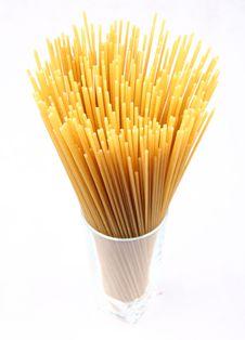 Raw Spaghetti Stock Image