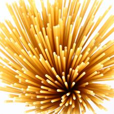 Raw Spaghetti Royalty Free Stock Images