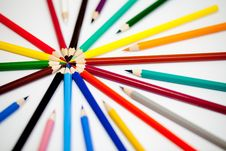 Free Pencil And Pastel Stock Photos - 14893003