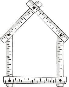 Free Birch Frame. Royalty Free Stock Image - 14893196
