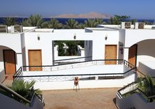 Free View From The Hotel On The Island Of Tiran Royalty Free Stock Images - 14893619