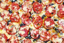 Free Pizza Background Royalty Free Stock Photo - 14893855