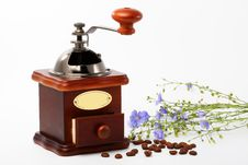 Free Coffee Mill Royalty Free Stock Photo - 14894185