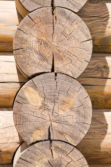 Part Of Wooden Frame Royalty Free Stock Images