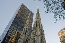 St Patrick S Cathedral New York Royalty Free Stock Image
