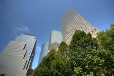 Free New York World Financial Center Royalty Free Stock Photo - 14895255