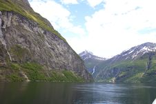 Free Geiranger Fjord Royalty Free Stock Images - 14895529