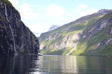 Free Geiranger Fjord Stock Images - 14895764