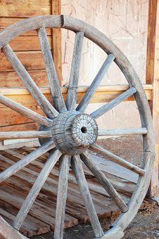 Free Old Wagon Wheel Royalty Free Stock Photos - 14896198