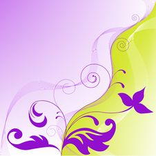 Free Yellow Purple Abstract Background Stock Photo - 14896220