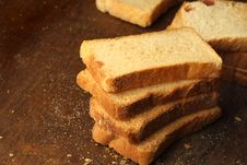 Baked Rusks Royalty Free Stock Photo