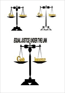 Free Equal Justice Stock Photography - 14896532