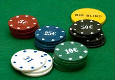 Free Cards And Poker Chips Royalty Free Stock Images - 14896669