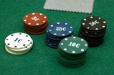 Free Cards And Poker Chips Stock Images - 14896694