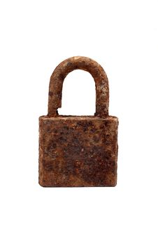 Free Old Rusty Padlock Royalty Free Stock Photo - 14896745