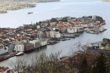 Free The Bergen Harbor Stock Image - 14896951