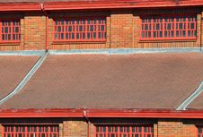 Red Brick Building Royalty Free Stock Images