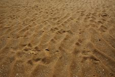 Free Sand Patterns Royalty Free Stock Photos - 14897058