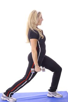 Free Blonde Working Out Stock Photo - 14897560