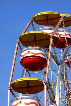 Free Colorful Ferris Wheel Stock Photo - 14897930
