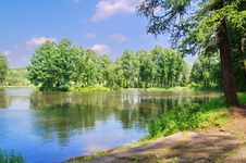 Free Summer Landscape Stock Image - 14897971