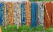 Free Coloured Beads Royalty Free Stock Photo - 14898525