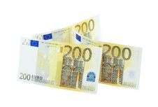 Free Three 200 Euro Banknotes Royalty Free Stock Photo - 14898545