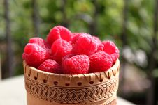 Free Raspberries Close Up View Royalty Free Stock Photo - 14898885