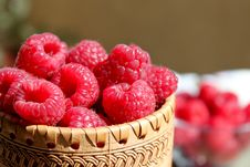 Free Raspberries Close Up View Royalty Free Stock Photography - 14898897