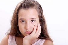 Free Sad Girl Stock Photo - 14898970