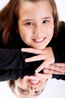 Free SMiling Girl Royalty Free Stock Photos - 14899078