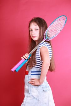 Free Sporty Teenager Girl Royalty Free Stock Photo - 14899885