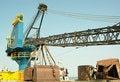 Free Big Crane On Ship In Port Stock Photos - 1491883