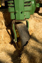 Free Green Tractor Royalty Free Stock Image - 1499636