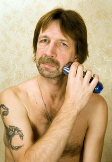 Shave Royalty Free Stock Photo
